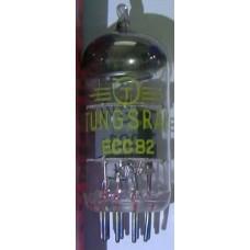 ECC82 (12AU7) TUNGSRAM Hungary OLD AF-Twin triode Tube, Vintage