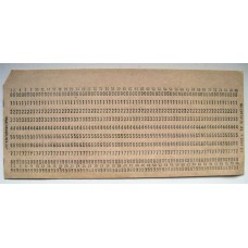 OLD USSR Computer Mainframe Punch Cards. Like for IBM UNIVAC computers!