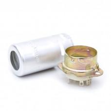 Original Ceramic 9-pin tube Socket with shield for 12AX7, ECC83.