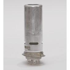 Original Ceramic 9-pin tube Socket with shield for EL84, ECC83..